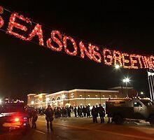 Greeting Card - Season's Greetings from Ferguson, MO by shirtsforshirts