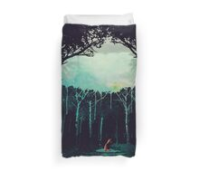 Deep in the forest Duvet Cover