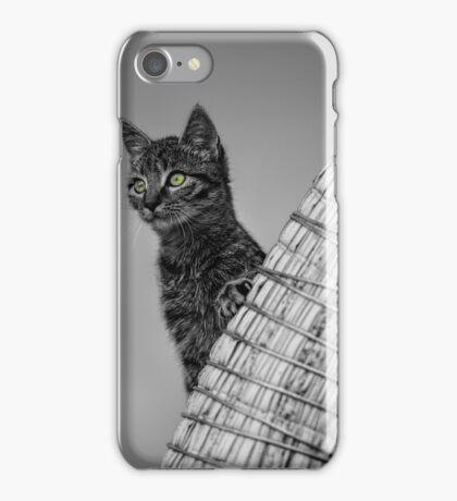 Curiosity and the Cat iPhone Case/Skin