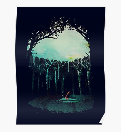 Deep in the forest Poster
