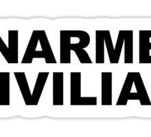 UNARMED CIVILIAN - Michael Brown Ferguson, MO  Sticker