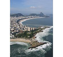 Copacabana or Ipanema, decisions, decisions! Photographic Print