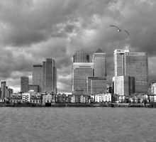 Canary Wharf by Chris Day