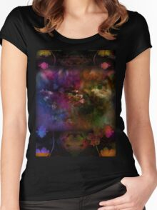 Autumn Serenity Women's Fitted Scoop T-Shirt