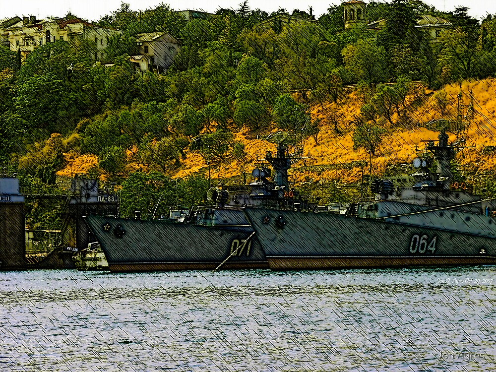 Ships of the Russian Black Sea Fleet2 by Jon Ayres