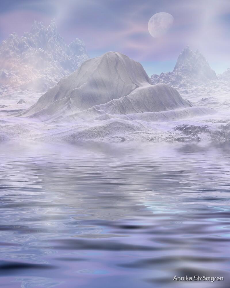 Frosty landscape by Annika Strömgren
