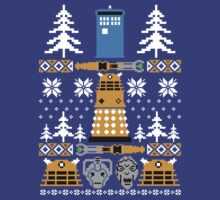 Doctor Who Ugly Sweater T-Shirt