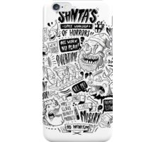 Santa's Little Workshop of Horrors iPhone Case/Skin