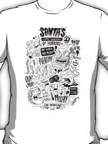 Santa's Little Workshop of Horrors T-Shirt
