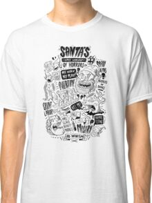 Santa's Little Workshop of Horrors Classic T-Shirt