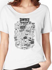 Santa's Little Workshop of Horrors Women's Relaxed Fit T-Shirt
