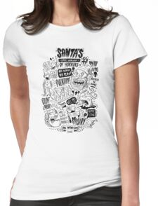 Santa's Little Workshop of Horrors Womens Fitted T-Shirt