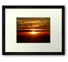San Francisco Sunset 1423 Framed Print