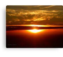 San Francisco Sunset 1423 Canvas Print