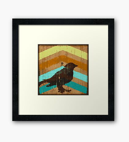 Bird and Arrows Framed Print