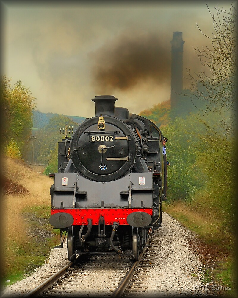 Approaching Haworth Station 2 by Philip Baines
