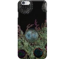 Merry Christmas with firework  iPhone Case/Skin