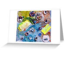 Katies Sea of Glue Greeting Card