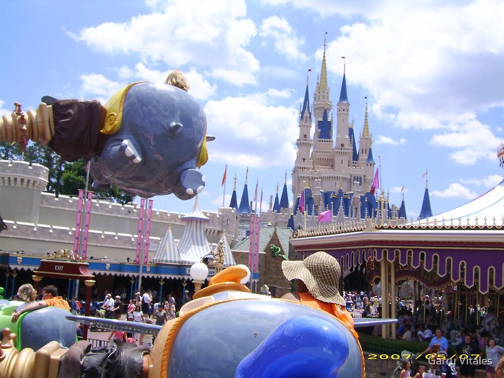 flying on Dumbo by Garry Vitales