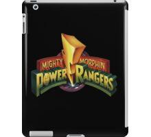 power rangers iPad Case/Skin
