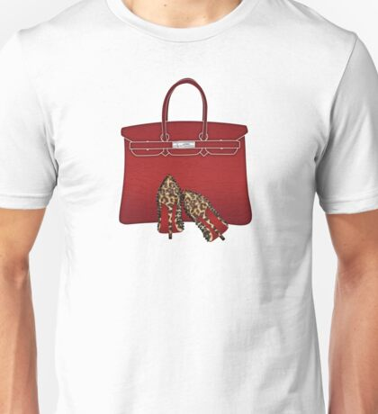 LOUBOUTIN leopard luxury & EXOTIC leather Unisex T-Shirt