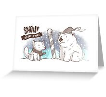 North Pole Christmas Greeting Card