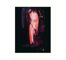 Ink Pulls - 0003 - Bird Between Art Print
