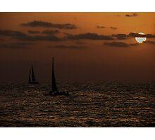 Black sails Photographic Print
