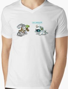 Eve zombie (plant) Mens V-Neck T-Shirt