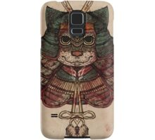 Samurai cat Samsung Galaxy Case/Skin