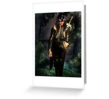 RavenShield the Slayer Greeting Card