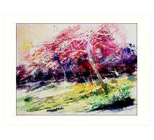 watercolor 080507 Art Print