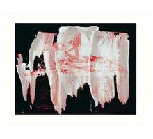 Ink Pulls - 0005 - Mountain Path Art Print
