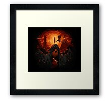 Hobbit nightmare Framed Print