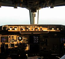 Flight Deck B767-300 by Rudolf