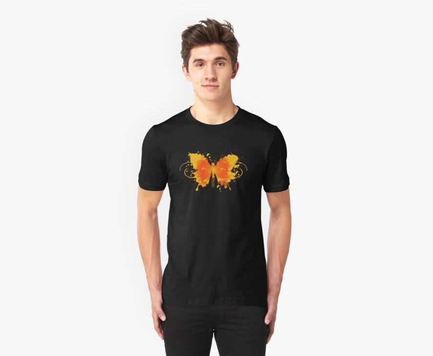 Butterfly by heat