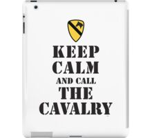 KEEP CALM AND CALL THE CAVALRY iPad Case/Skin