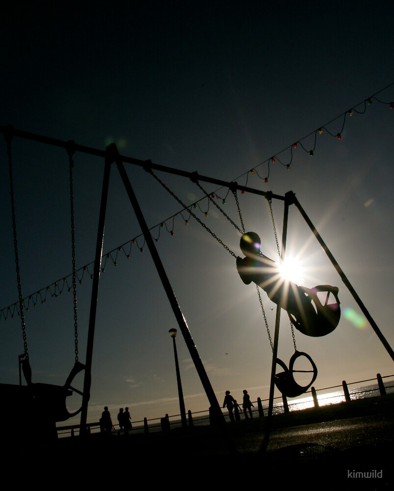 Silhouette Swing by kimwild