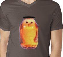 Big Pickled Pet Owl Mens V-Neck T-Shirt