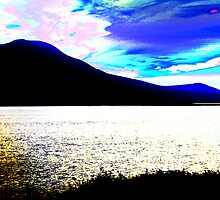 Colour Experiment 1- Tralee Bay by Pat Herlihy