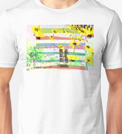 An unexpected Rudbeckia storm hit the villagers Unisex T-Shirt