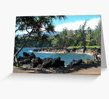 Maui Inlet Greeting Card