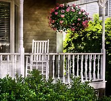 Porch Detail by Mike  Savad