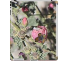 Butterflies on Globemallow Flowers iPad Case/Skin