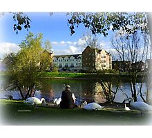 The Swan Man Photographic Print