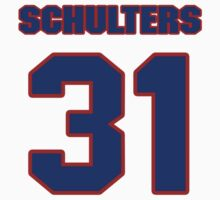 National football player Lance Schulters jersey 31 by imsport