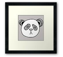 unBEARably cute Framed Print