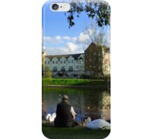 The Swan Man iPhone Case/Skin