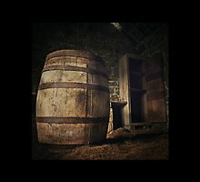 Old Barrel by Dermot O'Mahony