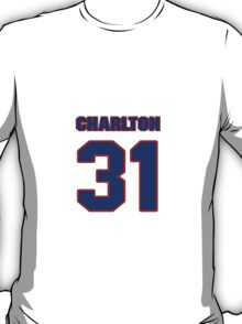 National football player Ike Charlton jersey 31 T-Shirt